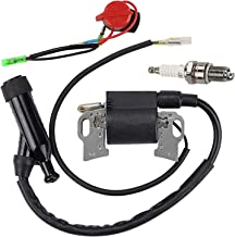 Hilom 30500-ZE2-023 Ignition Coil for Honda Gx240 Gx270 Gx340 Gx390 8hp 9hp 11hp 13hp Engine Generator with ON Off Switch Engine Stop Replace 30500-ZF6-W02