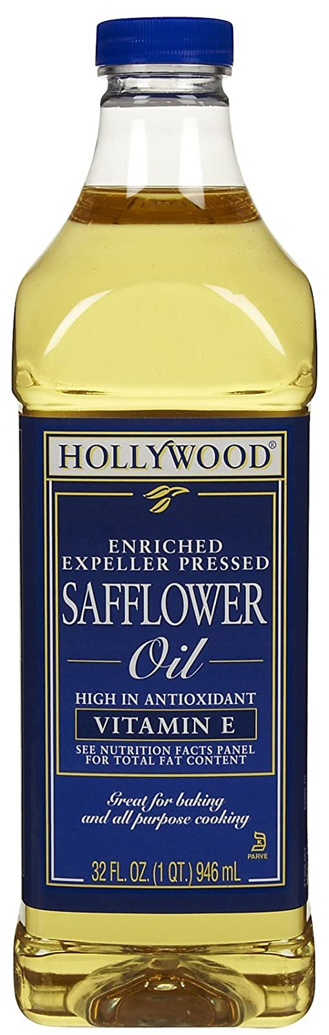 Hollywood Safflower In Fees free!! stock Oil 32 oz