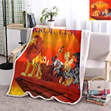 Yloveme Baby Small Fleece Blanket Throw The Lion King 2019 Double-Sided Super Soft Plush Blanket Throw 32x60 inches