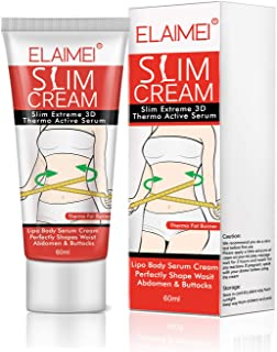 Hot Cream, Extreme Cellulite Slimming & Firming Cream, Body Fat Burning Massage Gel Weight Losing, Hot Serum Treatment for...