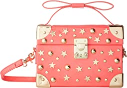 Betsey Johnson Don't Box Me in Box Crossbody