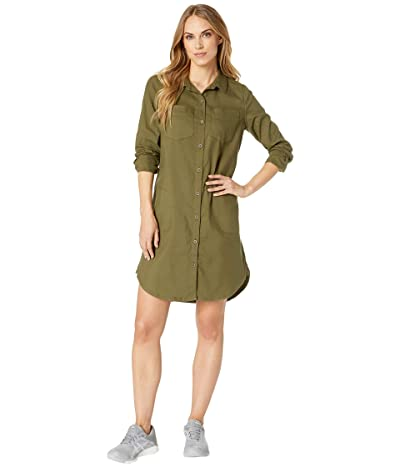 Prana Yarrow Dress (Cargo Green) Women