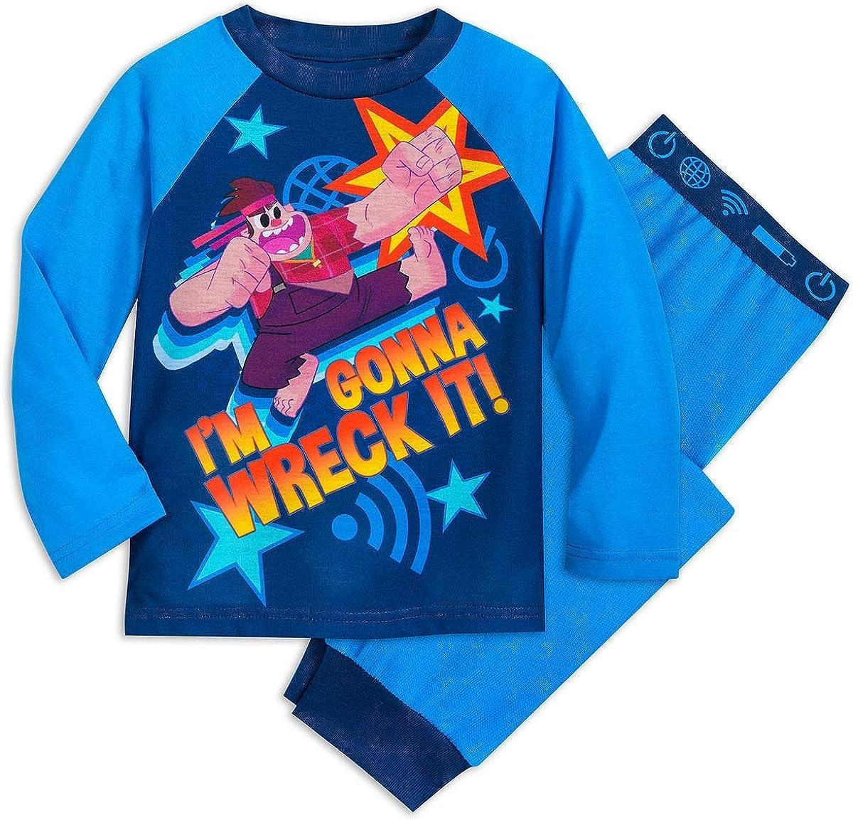 Shop Disney Wreck-It Ralph Pajama Set for Kids (7/8)