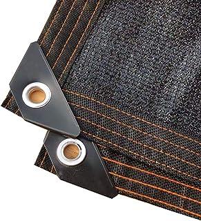 90% オーニング,完ぺきですね 黒 遮光罩 用 プラントカバー 温室 効果 プール UVカット メッシュ 遮阳棚 ブラック 2x4m