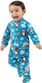 Footed Pajamas - Winter Wonderland Infant Fleece Onesie