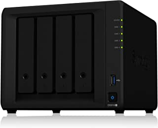 Synology DiskStation DS918+ 4ベイ NAS キット 日本正規代理店アスク サポート対応 クアッドコアIntel CeleronCPU搭載 保証3年 CS7062