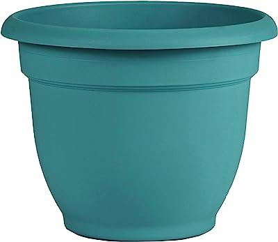 """Bloem Ariana Self Watering Planter (AP2026), Bermuda, 20"""" - Teal Green"""