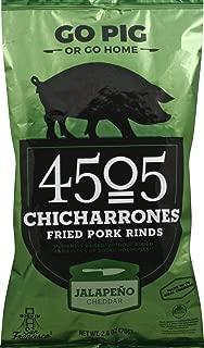 4505 Meats - Chicharrones Fried Pork Rinds Jalapeno Cheddar - 2.5 oz.