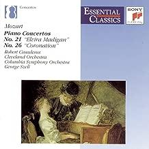 Mozart: Piano Concertos, No. 21 & 26 Essential Classics