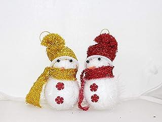 APSAMBR-Christmas Decoration Snowman Tree Hanging Ornament (PAKE of 2)