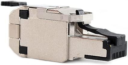 Belden RVAFPSME-S1 Shielded Cat6A REVConnect 10GX 10GXS STP Field Mount Plug, 10G
