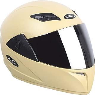 Virgo ZDiPlus Desert Storm Smoke Black Visor Helmet (Yellow)