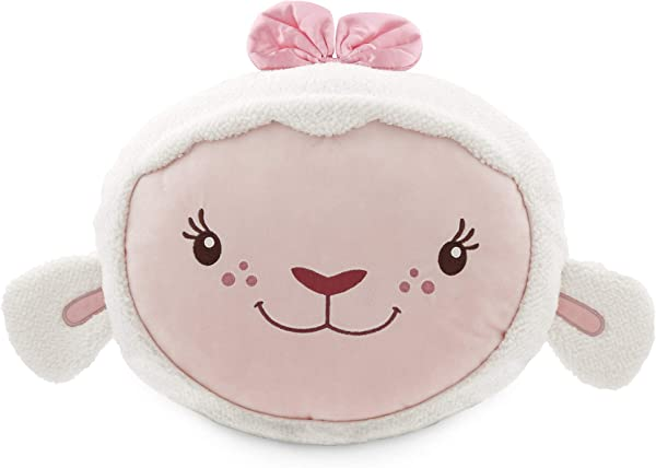 Disney Lambie Plush Pillow Doc McStuffins