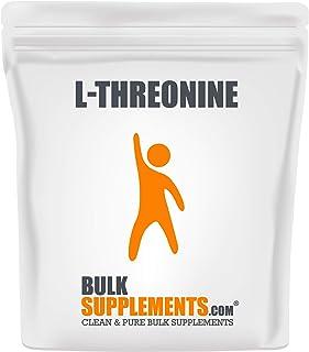 Sponsored Ad - BulkSupplements.com L-Threonine (500 Grams - 1.1 lbs - 250 Servings)