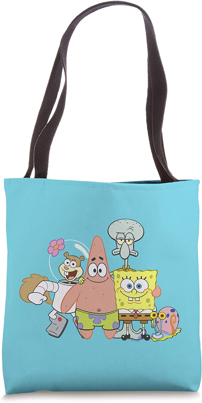 SpongeBob SquarePants Group Shot Friends Tote Bag