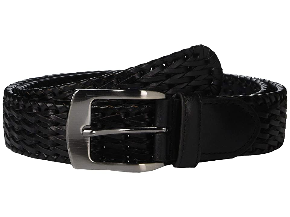 Stacy Adams - Stacy Adams 32 mm Hand Woven Leather Belt