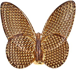 Baccarat 20K Gold Butterfly Sculpture