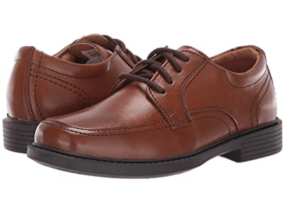 Florsheim Kids Billings Jr. II (Toddler/Little Kid/Big Kid) (Cognac Smooth Leather) Boy