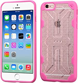 MyBat Cell Phone Case for Apple iPhone 6s/6 - Retail Packaging - Clear/Pink