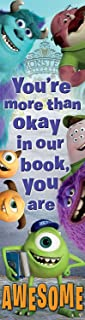 Eureka Monsters University Vertical Classroom Banner, Awesome, Measures 45 x 12