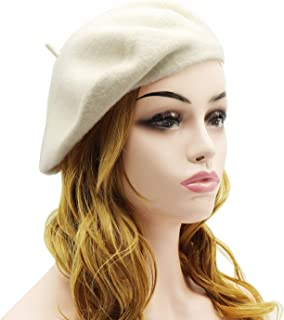 7a7501728b41f Amazon.com  Whites - Berets   Hats   Caps  Clothing