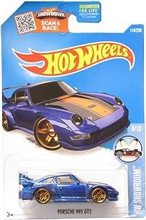 Hot Wheels 2016 HW Showroom Porsche 993 GT2 114/250, Blue