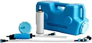 AquaBrick Portable Water Purification System, Portable Water Filter for Camping, Best Survival Water Purifier, Purifies Ta...
