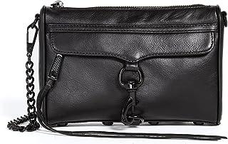 Rebecca Minkoff Women's Mini Mac Bag, Black, One Size