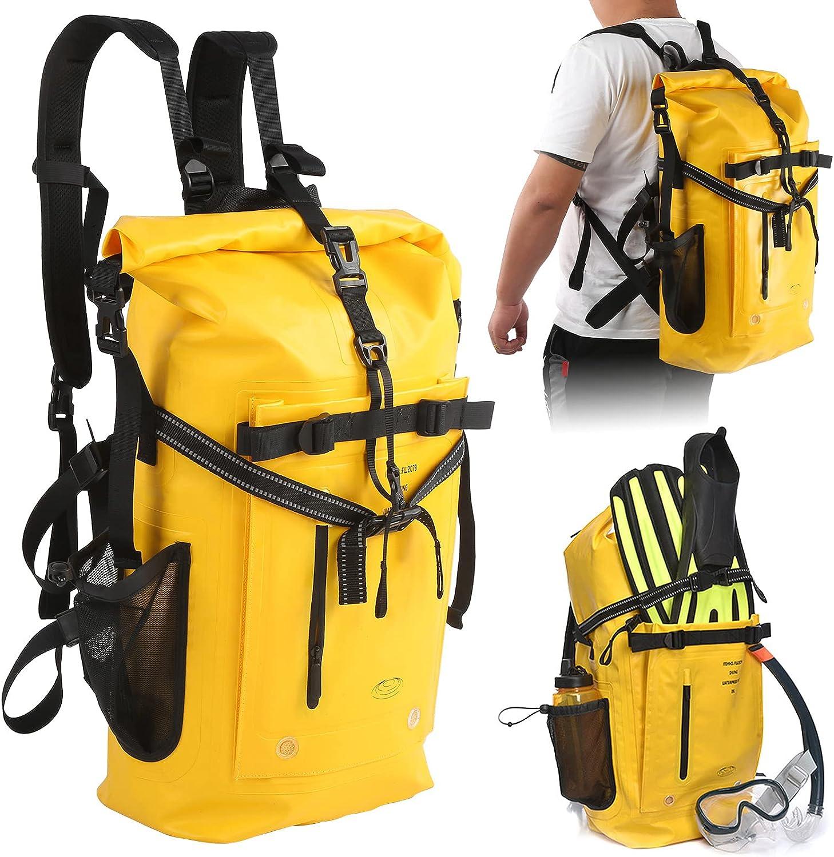 Storage Bag 500D PVC High [Alternative dealer] overseas Swimming Resistance Backpack Abrasion