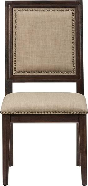 Jofran Geneva Hills Wood Upholstered Dining Chair