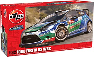 Airfix Ford Fiesta RS WRC Car Building Kit, 1:32 Scale