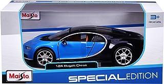 Maisto 1:24 Scale - Special Edition - Bugatti Chiron - Blue & Black