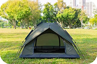 Image of BUSUANZI 3-4 Person Camping Tent Instant Pop Up Double Layer Family Tent for Outdoor Camping Family Beach Hunting Hiking Travel