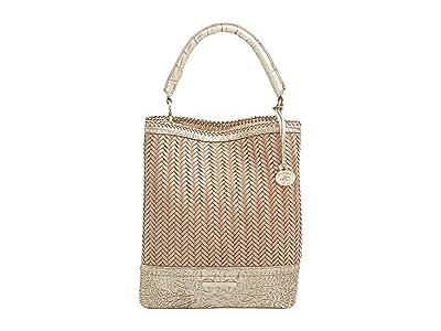 Brahmin Hutchinson Amelia Bucket Bag (Stardust) Handbags