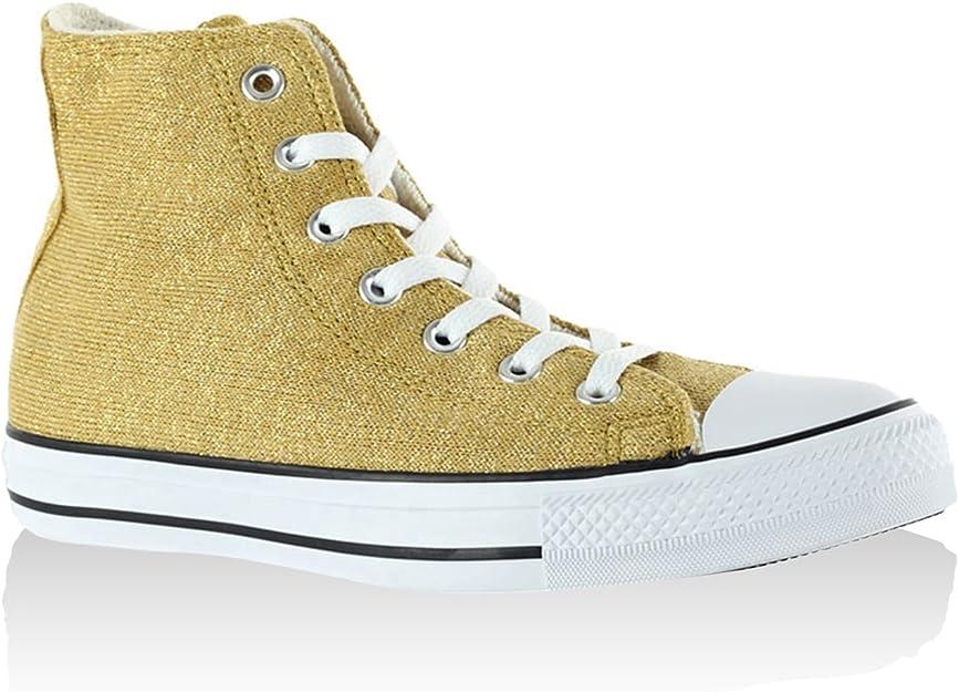 Converse - All Star Hi Textile Glitter, Sneaker Alte Donna ...