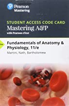Mastering A&P with Pearson eText -- Standalone Access Card -- for Fundamentals of Anatomy & Physiology (11th Edition)