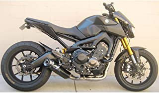 14-17 Yamaha FZ-09: Graves Titanium Full System Exhaust (Carbon Fiber Can with Carbon End Cap)