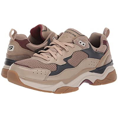 SKECHERS Relaxed Fit Staxed Volted (Taupe) Men