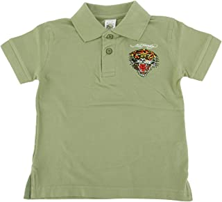 Little Boys Girls Toddler Animal Graphic Cotton Polo T-Shirt