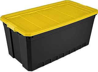 19 Gallon (76-Quart) Stacker Storage Box, Set of 6 Sterilite