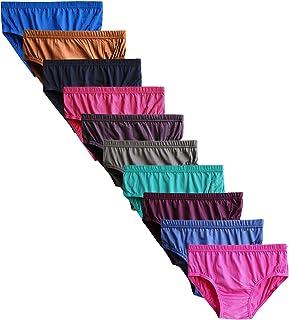 31851520a9ee Elk Womens Brief 100% Cotton Ladies Panty Innerwear Inner Elastic Combo  Packs