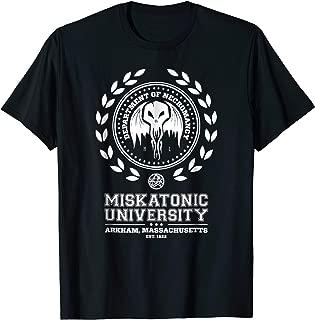 Miskatonic University Cthulhu Mythos Necronomicon T-Shirt