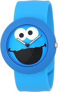 Sesame Street SW613CM Cookie Monster Slap Watch Case