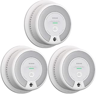 X-Sense 2-in-1 Smoke and Carbon Monoxide Detector Alarm (Not Hardwired), 10-Year Battery-Operated Dual Sensor Fire & CO Al...