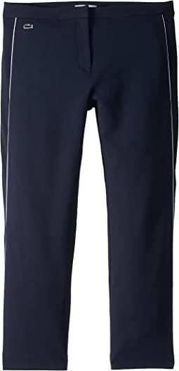Crepe Interlock Athleisure Trousers