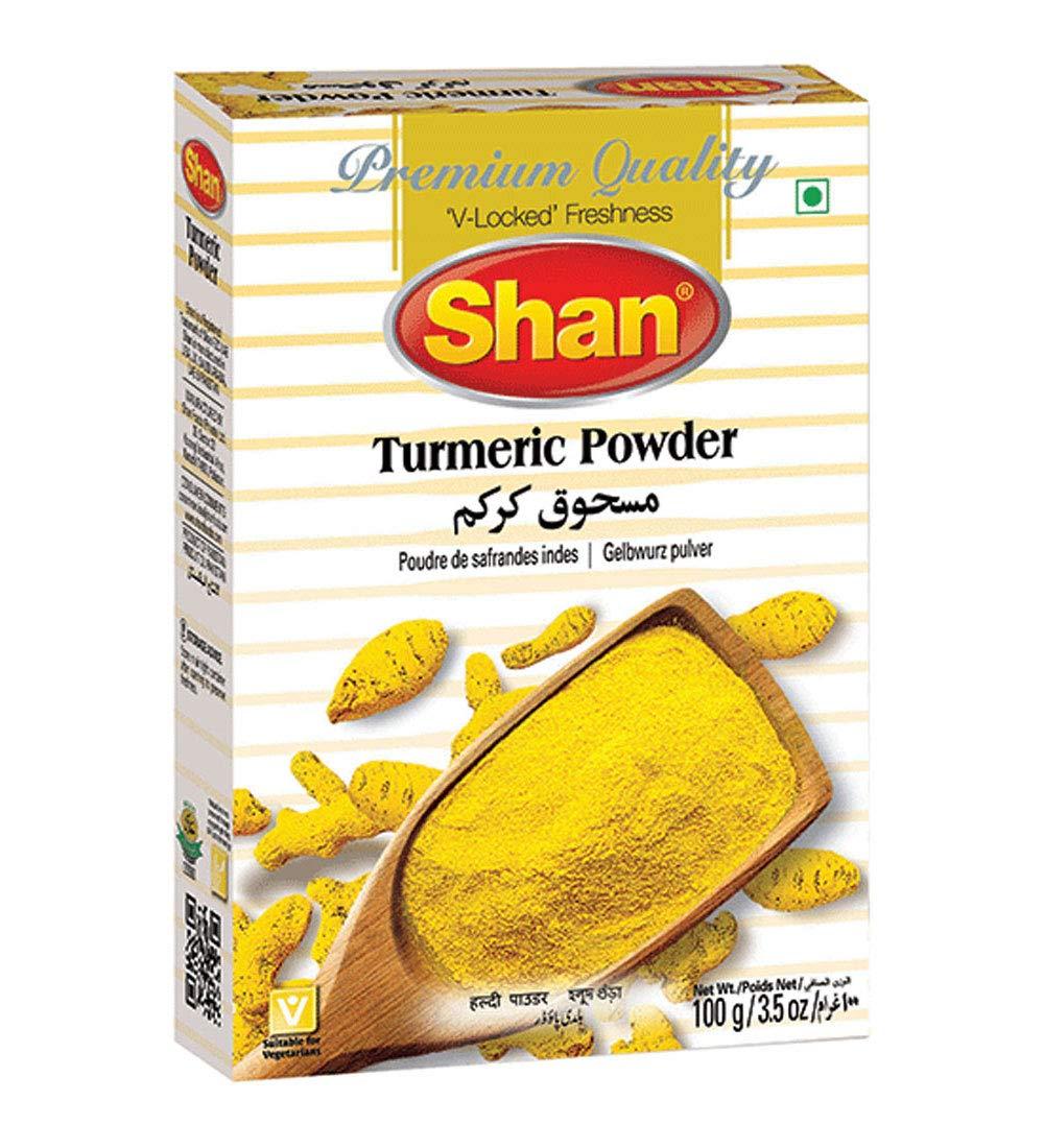 Shan Turmeric Powder 3.52 Ranking TOP11 oz 100g Preservative Special Campaign and - Artifi No