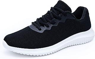 Sponsored Ad - Akk Men's Comfortable Walking Shoes, Lightweight Sports Tennis Shoes Fashion Sneakers for Men Casual Wear