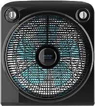 Cecotec Ventilador de Suelo con Temporizador EnergySilence 6000 PowerBox Black. 50 W, 5 aspas de 30 cm de diámetro, 3 Velo...