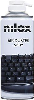 Nilox NXA02061-1 Bomboletta Spray Aria Compressa per Pulizia Computer, Tastiere e Accessori