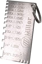 Miller Electric 229895 Gage, Wire Metal Sizes